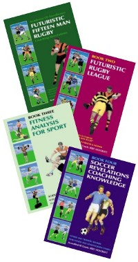 Rugby, Football and Fitness coaching manuals